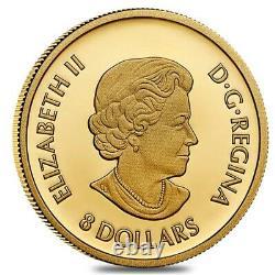 Sale Price 2021 Canada 1/20 oz Triumphant Dragon Proof Gold Coin. 9999 Fine