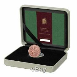 Strike On Day Brexit Gold Sovereign Coin Exclusive Rare Withdrawal EU 2020