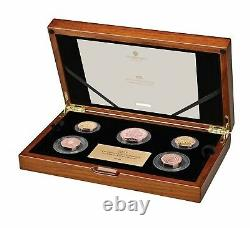 The 2021 United Kingdom Gold Proof Commemorative Coin Set Limited Mintage 95
