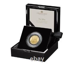 The Who 2021 UK One Ounce Gold Proof Coin Royal Mint with Box & COA