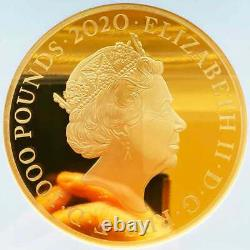 UK 2020 Great Britain James Bond Special Edition 1kg Gold Proof Coin NGC PF70 UC