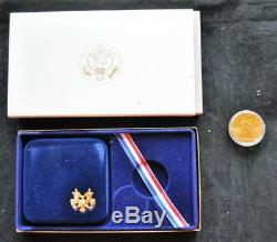US 1984 Olympic $10 Gold Eagle Proof Coin Uncirculated with COA