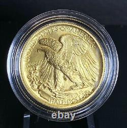 US Mint 2016 Walking Liberty Half Dollar Centennial Gold Coin 1/2 OZT 9999 Pure