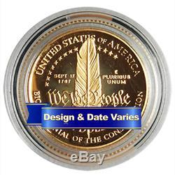 U. S. $5 Gold Commemorative Random Year Proof or Uncirculated
